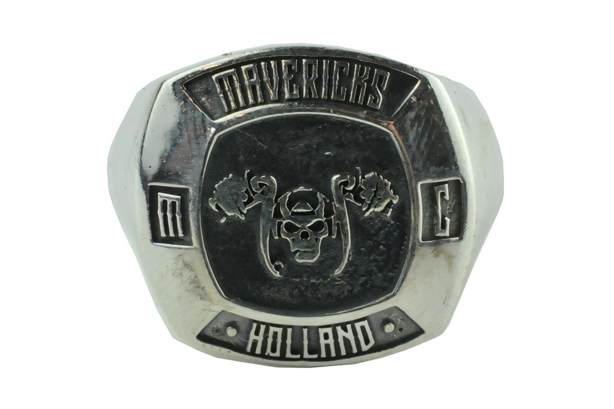 mavericks holland biker ring