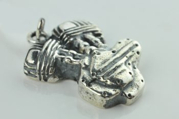 harley engine sterling silver