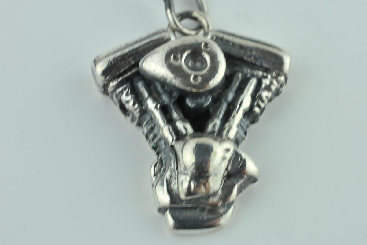 harley engine sterling silver