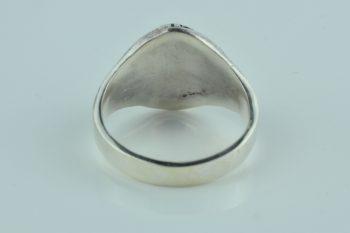 silver biker ring