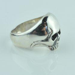 skull ring sterling silver