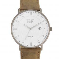 Davis Boston 2071 Titanium Horloge